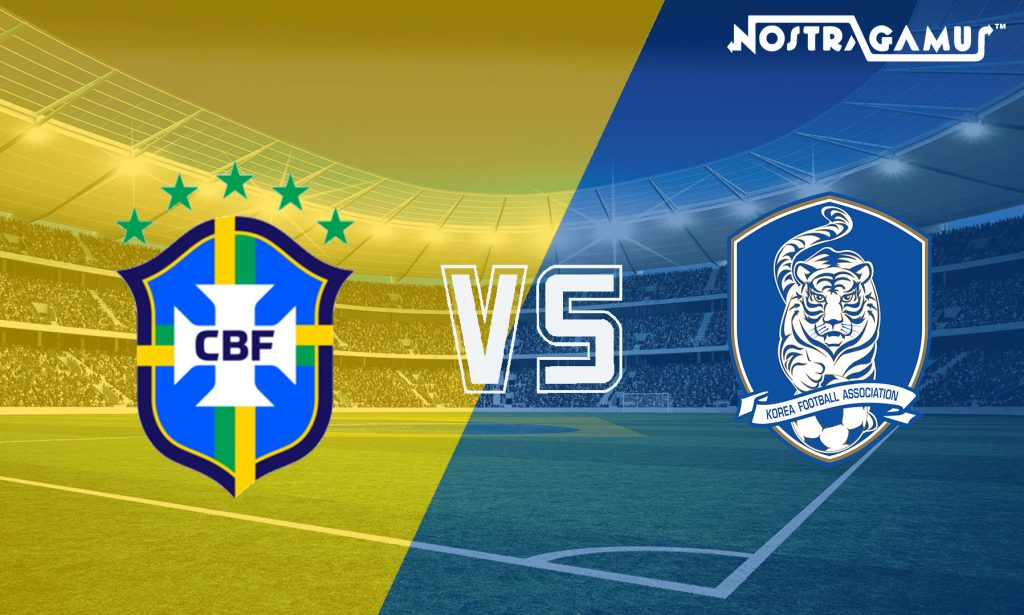 International friendlies- Brazil vs South Korea