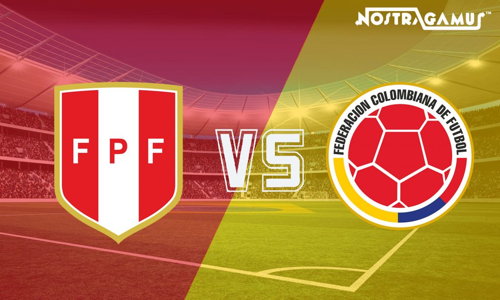 International friendlies-Peru vs Colombia