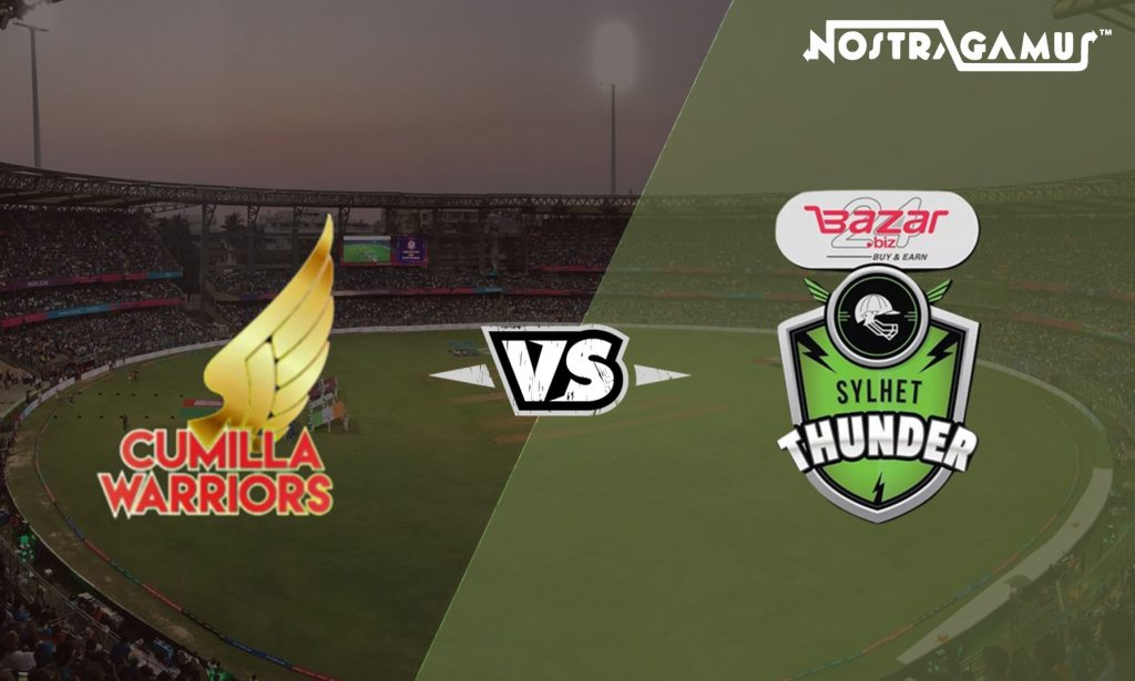 Cumilla Warriors vs Sylhet Thunder: BPL 2019 Match Prediction