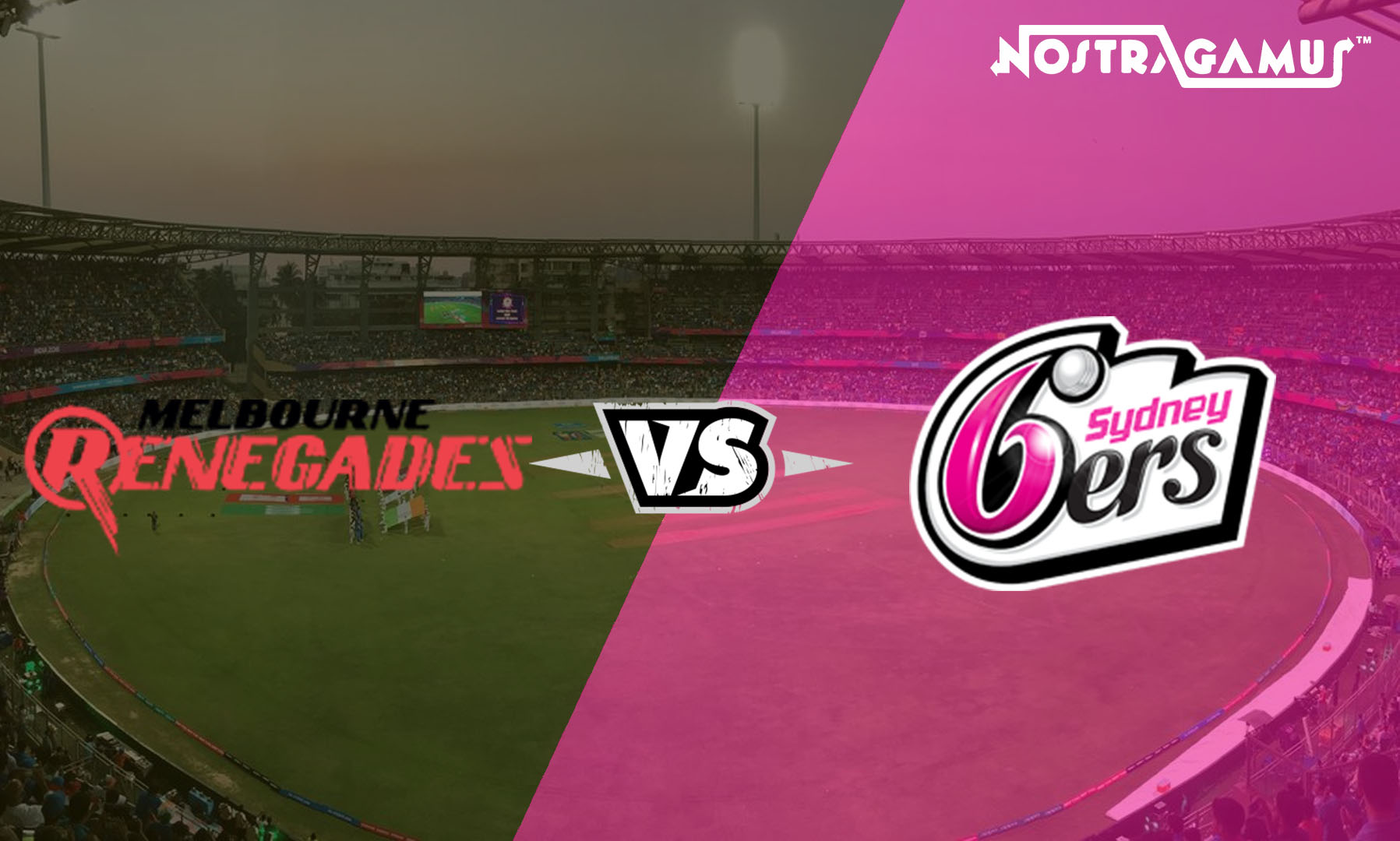 Big Bash League Predictions:  Sydney Sixers vs Melbourne Renegades