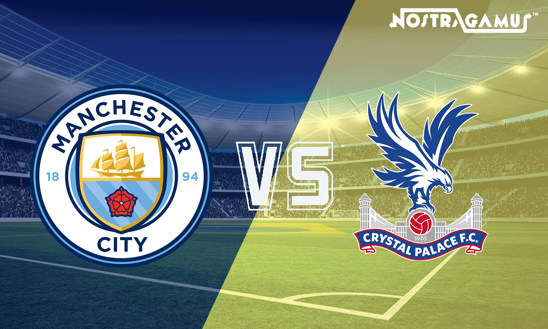 English Premier League Match Prediction (EPL 2019): Man City vs Crystal Palace