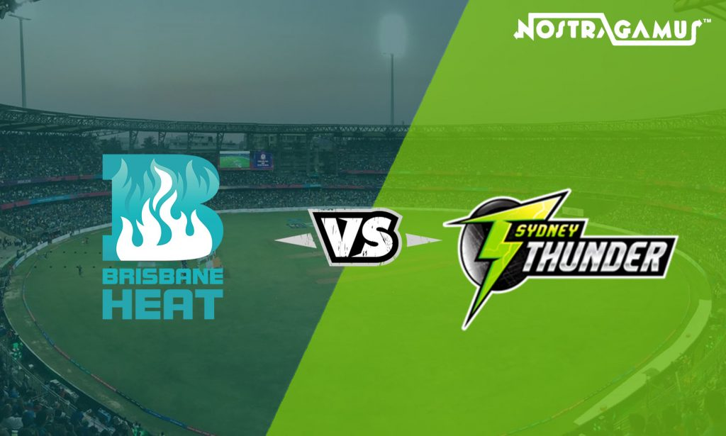 Sydney Thunder vs Brisbane Heat: BBL 2019 Match Prediction